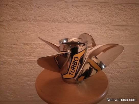 Nettivaraosa - Turbo FX4 - 13 1/4 x 24 - Boat accessories