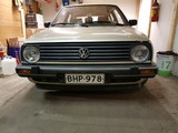 VW Golf mk2 Etupuskuri