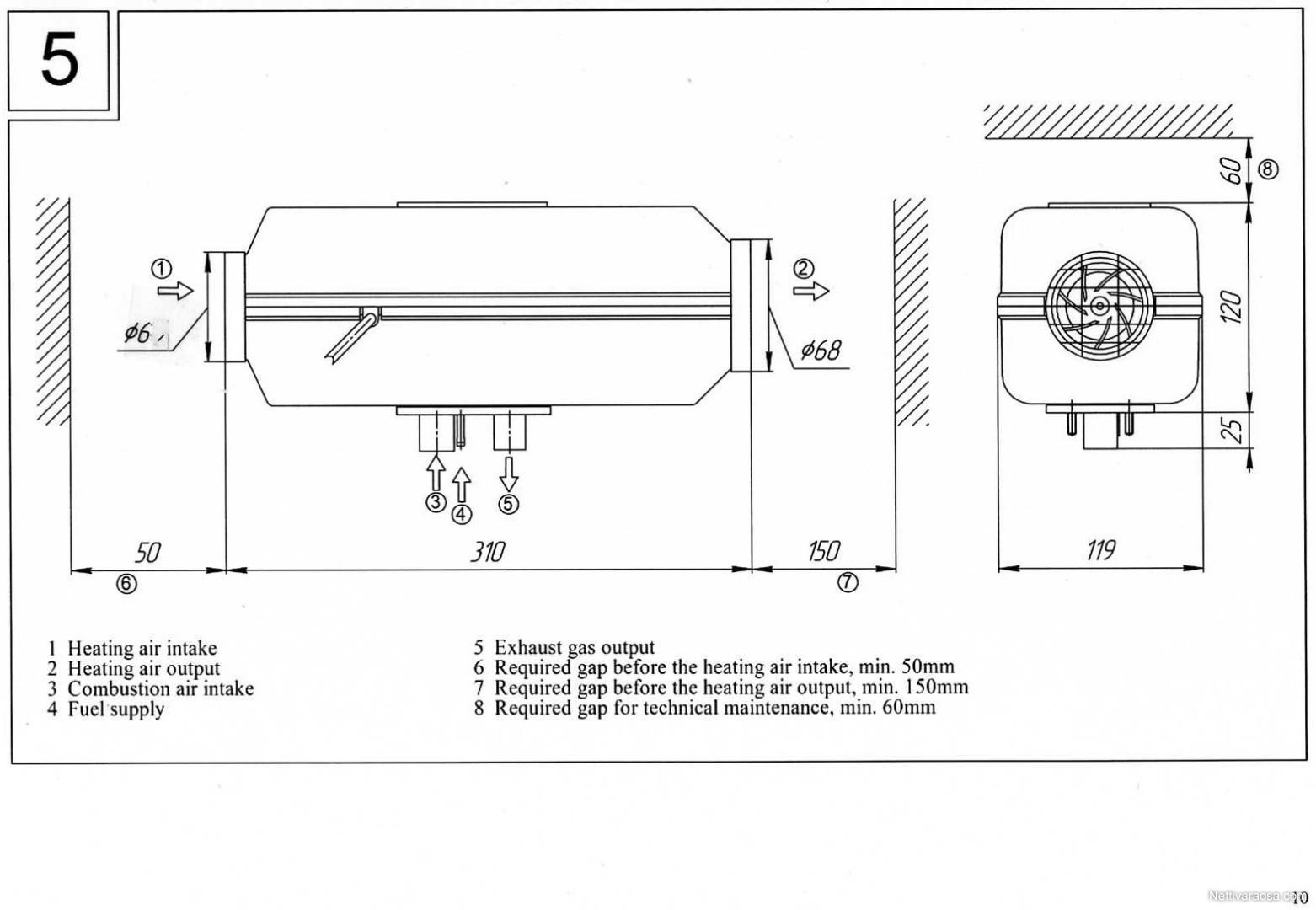 Nettivaraosa Planar 2d 12 V 2018 Diesellmmitin Bonus Tractor Ford 1910 Wiring Diagram Id 2663109 Cockpit Spareparts