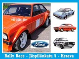Escort Rally Prep ja osat
