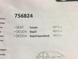 Skoda,vw, seat,