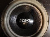 Focus acoustics Black 15d2 ja fx-6800 vahvari