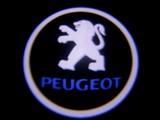 Peugeot    Tuning ovien taustavalot