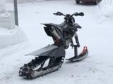 KTM Telasarja Tedesled Snowbike