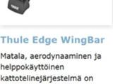 Kattotelineet Thule Edge Wingbar