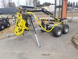 Crane 350 Hydrauli tukkikärry UUSI