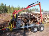 Crane 450 Hydrauli tukkikärry UUSI