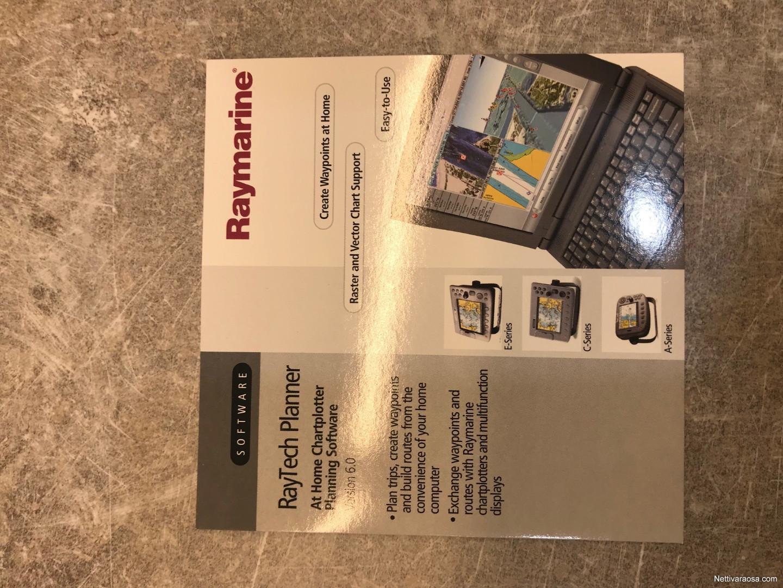 Nettivaraosa - Raymarine C120 karttaplotteri - + GPS antenni +