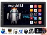2DIN autosoitin android 8.1