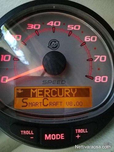 Nettivaraosa - Mercury Smartcraft - mittari - Boat