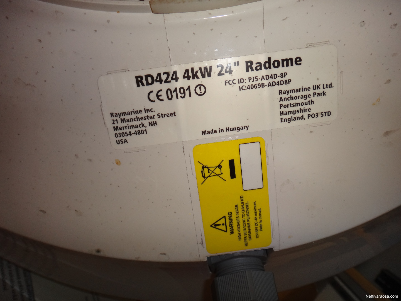 Raymarine tutka 24
