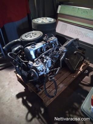 Nettivaraosa - Mercedes W123 - Om617 turbo moottori +