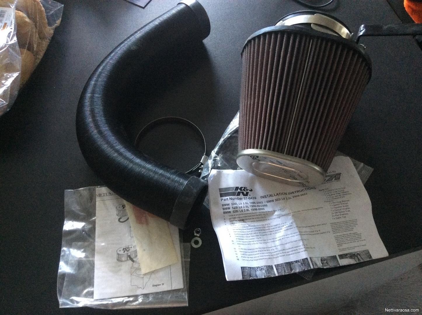 BMW 520 - Car spare parts - Nettivaraosa