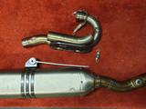 Akrapovic Racing exhaust