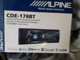 Alpine CDE-178BT