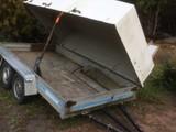 Teräskärry teliperävaunu