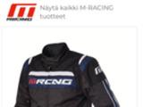 M-racing Takki ja housut