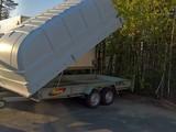 Majava 8540 ISO kuomukärry, 2000kg