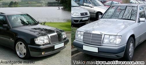 Mercedes Benz Mallit